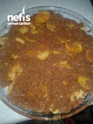 Kiymali Patates Yemegi