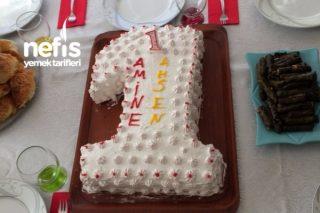 Bir Yaş Doğum Günü Pastası Tarifi