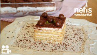 Kahveli Petibör Pastası Videosu Tarifi