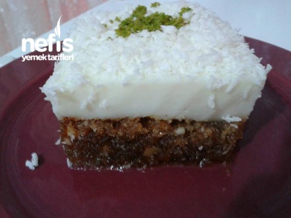 Mikrodalgada Kıbrıs Tatlısı(10 dakikada)