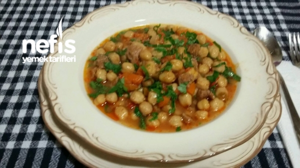 Sebzeli-etli Nohut Yemeği