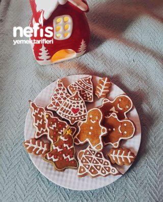 Klasik Gingerbread Cookie ( Klasik Yılbaşı Kurabiyesi)