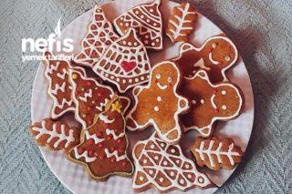 Klasik Gingerbread Cookie (Klasik Yılbaşı Kurabiyesi) Tarifi