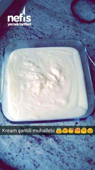 Kream Şantili Muhallebi