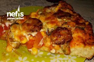 Evde Nefis Pizza (bol malzemeli)