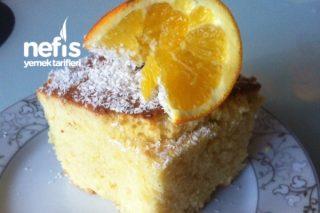 Az Yağlı Nefis Portakallı Kek Tarifi