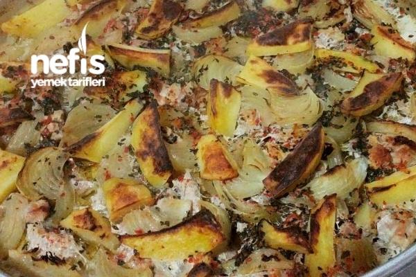 Fırında Patatesli Hindi Eti Tarifi