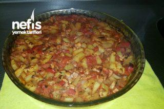 Tavuk Göğüsü/Patates Türlüsü (Fırında) Tarifi