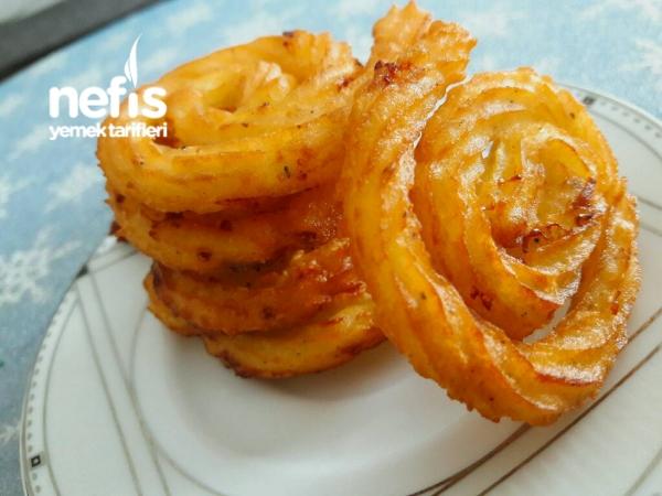 Spiral Çıtır Patates ( Harika Lezzet )