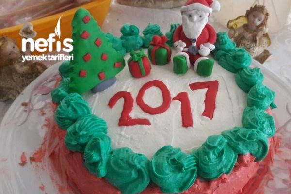 Yaş Pasta (Yılbaşı İçin )