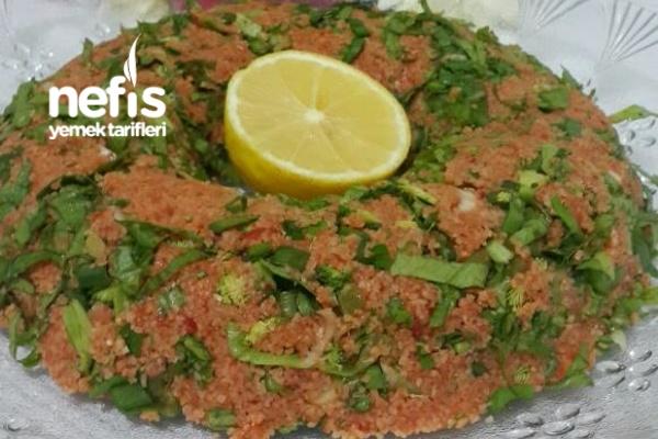 Brokolili Kısır Tarifi