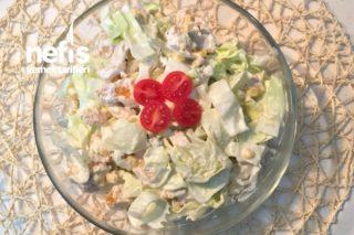 Yapması Kolay Yemesi Sağlıklı Ve Lezzetli Salata Tarifi