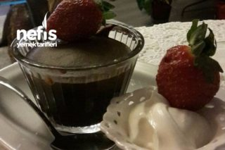 Bitter Çikolatalı Enfes Sufle Tarifi