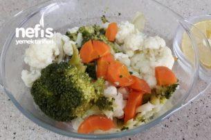 Diyet Salata Tarifleri - Haşlanmış Sebzeler Tarifi