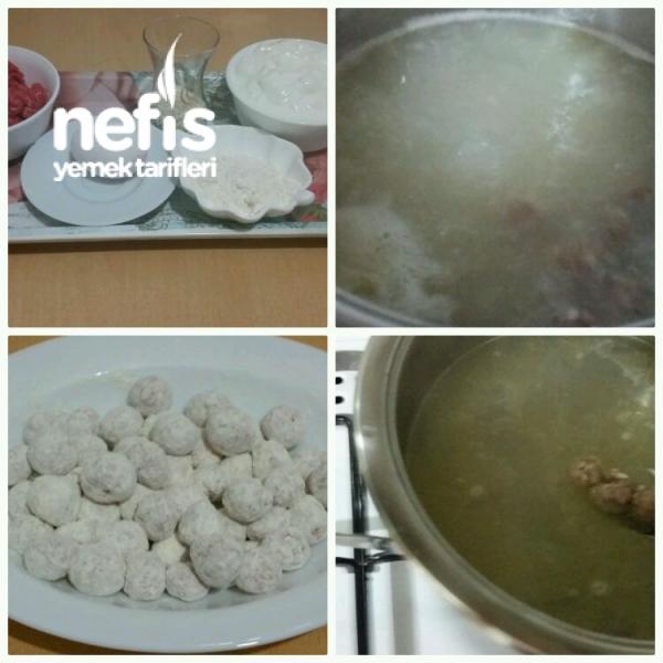 Misket Köfteli Yoğurt Çorbası(yok Böyle Bir Tat)