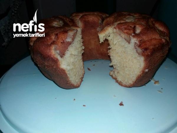 Elmalı Puf Kek