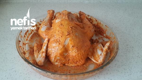 Fırın Poşetinde Bütün Tavuk(lokum Kıvamında)