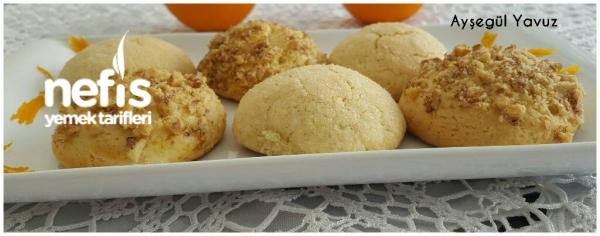Nefis Portakallı Kurabiye (Pastane Usulü)