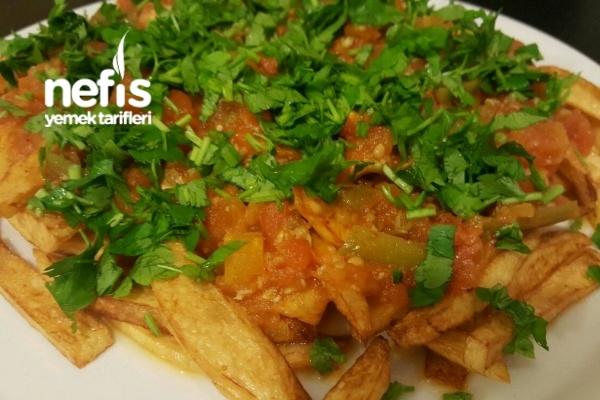 Soslu Patates Kızartması Tarifi