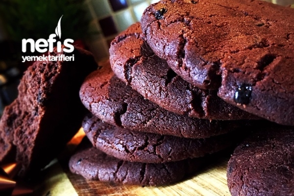 Amerikan Kurabiyesi (Kakaolu-Cookies) Tarifi
