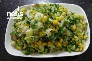 İnce Bulgur Salatası Tarifi