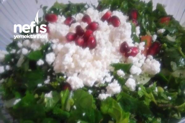 Bol Bol Yiyebilirim Diyet Salatası Tarifi