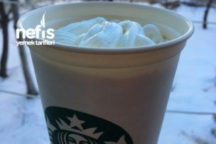 Soğuk İçecekler - Starbucks Kahve ( Soğuk beyaz çikolatalı mocha tadında) Tarifi