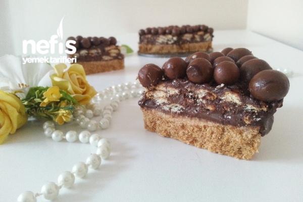 Çikolatalı Bisküvi Pastası Tarifi