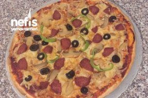 Lavaşdan Pizza Tarifi