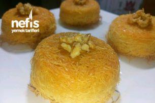 Muffin Kalıbında Kolay Porsiyon Kadayıf Tarifi