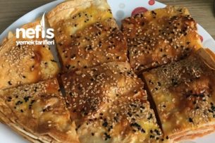 Patatesli Lavaş Böreği Tarifi