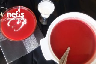 Kremalı Kırmızı Pancar Çorbası Tarifi