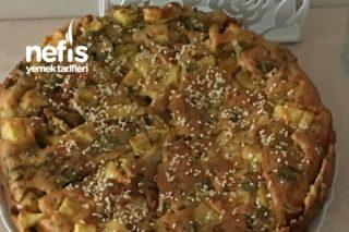 Patatesli Yeşillikli Tuzlu Kek Tarifi