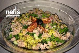 Diyet Salata Tarifleri - Zencefilli Ton Balıklı Salata Tarifi