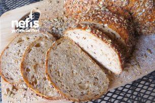Bol Tahıllı Ev Ekmeği Tarifi