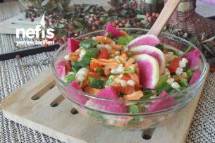 Diyet Salata Tarifleri - Buğday Salatası (Pratik, Besleyici ve Tok Tutucu) Tarifi