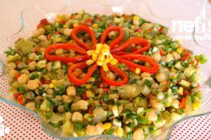 Videolar - Nohutlu Mercimekli Gün Salatası Videosu Tarifi