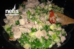 Diyet Salata Tarifleri - Kinoalı Ton Balıklı Salata Tarifi