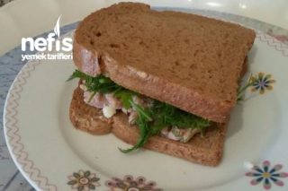 Nefis Diyet Sandviç (Ve Birkaç Tavsiye) Tarifi