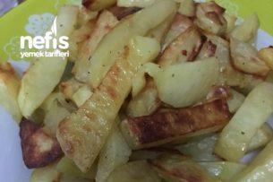 Fırında Patates Kızartması (Tam Kızartma Tadında) Tarifi