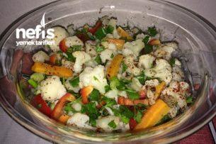 Diyet Salata Tarifleri - Karnabahar Salatası Tarifi