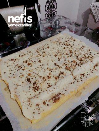 Muz ve Çikolata Aşkı (Rulo Pasta)