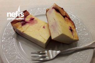 Nefis Unsuz Vişneli Cheesecake ( Low Carb, Glutenfree) -1
