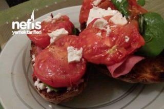 Akdeniz Sandviç Tarifi