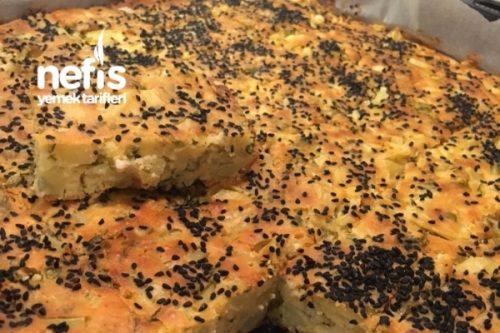 Sebzeli Tuzlu Kiş (Kek) Tarifi