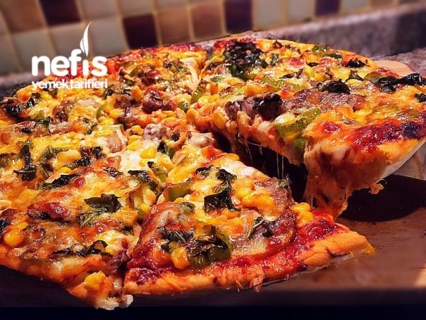 Spesiyal Pizza (italyan Hamur)