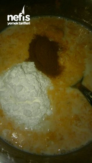 Balkabaklı Diyet Puding (115 kalori)