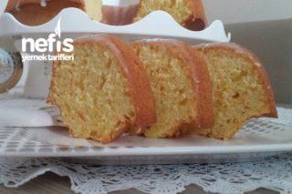 Vanilya Soslu Portakallı Kek Tarifi