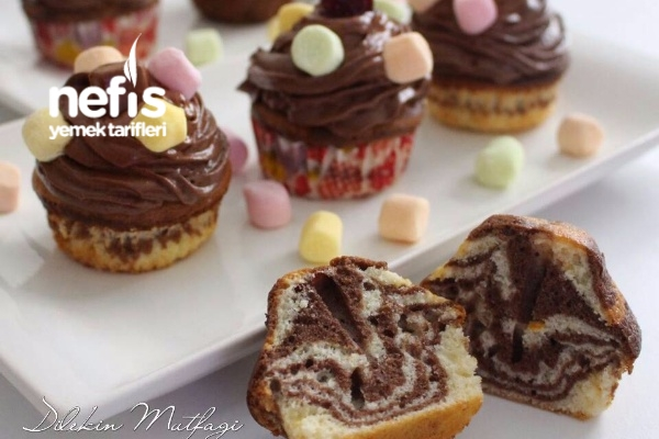 Zebra Cupcake Tarifi