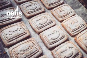 Tatlı Kurabiyeler - Bisküvi Tadında Baskılı Kurabiye Tarifi